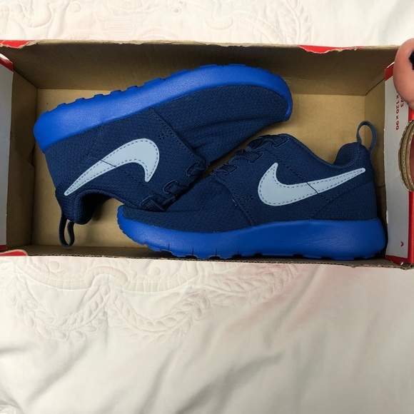 Kids blue Nike Shoes New in Box